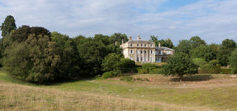 HAMMERWOOD, SUSSEX/UK - JULY 23 : View of Hammerwood Park House Royalty Free Stock Images