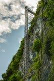 Hammetschwand hiss nära Luzern Royaltyfri Bild