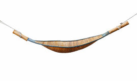 Hammock. The hammock on white background Royalty Free Stock Photos