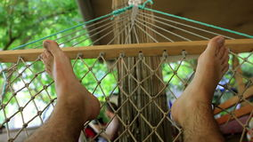 On hammock Stock Images