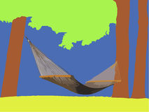 Hammock Foto de Stock Royalty Free