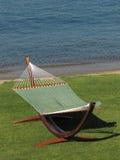 Hammock alla spiaggia Immagine Stock