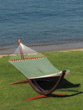 Hammock at the beach Stock Image