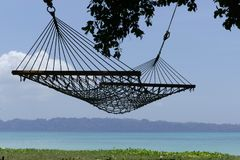 Hammock on beach