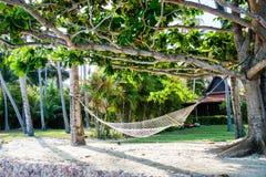 Hammock on the beach. Thailand Royalty Free Stock Photos