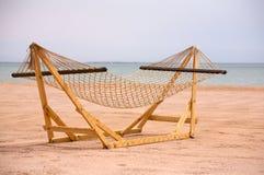 Hammock della spiaggia Immagini Stock