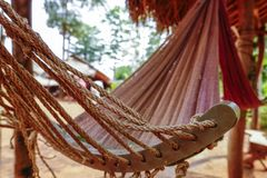 Hammock. In a Hill Tribes Village in Chiang Rai, Northern Thailand, Thailand, Asia Stock Photo