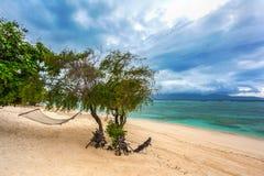 Coast of the Gili Trawangan island, Indonesia. Stock Images