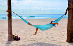 The Hammock. Image taken during a trip to Florida, United States Stock Photos