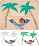 Hammock Relaxation Stock Photo