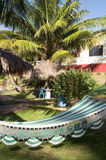 Hammock resort Big Corn Island Nicaragua Royalty Free Stock Photography