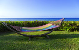 Hammock by the Se Royalty Free Stock Image