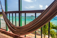 Hammock and Sea Stock Image