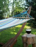 Hammock in the Shade Stock Image