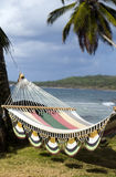 Hammock sopra il mare caraibico Nicaragua Fotografia Stock Libera da Diritti