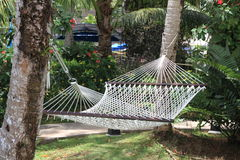 Hammock under the sun Royalty Free Stock Photography