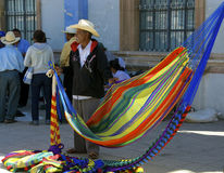 Hammock vendor, Mexico Stock Photography