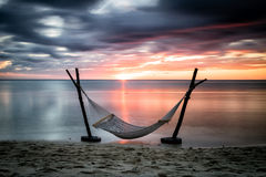 A hammock with a view Stock Photos