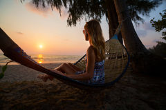 Hammock Royalty Free Stock Images