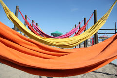 Hammocks Royalty Free Stock Photo