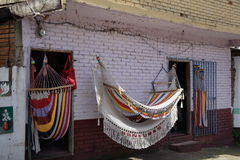 Hammocks for sale Stock Images