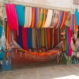Colorful Hammocks 3 Stock Photo