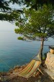 Hammok by the sea Stock Photo