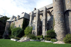 Hammond castle. Is located on the coast of Gloucester, Massachusetts. The castle, which was constructed between 1926 and 1929, was the home and laboratory of Stock Photos