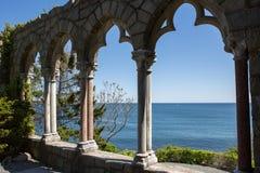 Hammond castle. On the coast of Gloucester, Massachusetts Royalty Free Stock Image