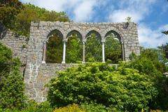 Hammond Castle i Gloucester, Massachusetts arkivbilder
