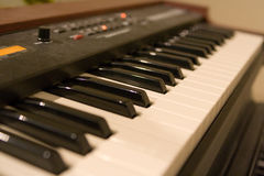 Hammond organ keys Royalty Free Stock Image