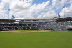 Hammond Stadium from Center Field Royalty Free Stock Photo