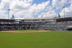 Hammond Stadium från mittfält Royaltyfri Foto