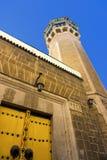 Hammouda巴夏清真寺在突尼斯,突尼斯 图库摄影