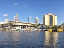 Hamnö i Tampa, FL arkivbild