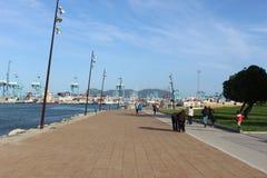 Hamn av Algeciras, Spanien Royaltyfri Bild