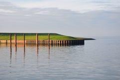 Hamn av Dangast, norrhav royaltyfri foto