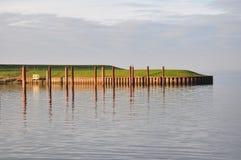 Hamn av Dangast, norrhav royaltyfria foton