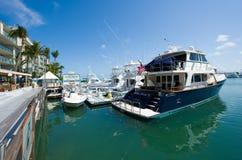 Hamn av Key West Royaltyfri Fotografi