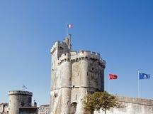 Hamn av La Rochelle, Charente-maritima Frankrike Arkivfoton