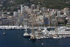 Hamn av Monaco, Europa Royaltyfri Fotografi