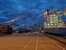 Hamn av Rotterdam royaltyfria bilder