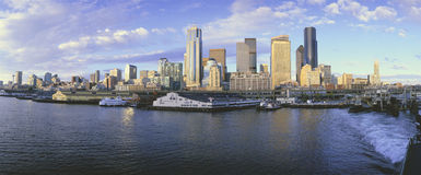 Hamn av Seattle Royaltyfri Foto