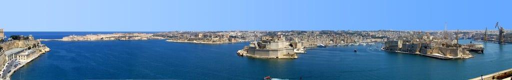 Hamn av Valletta royaltyfri fotografi