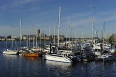 Hamn av Victoria, British Columbia, Kanada Royaltyfria Bilder