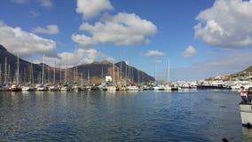 Hamn Cape Town Arkivfoto