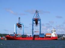 hamn för 09 gothenburg Royaltyfri Foto