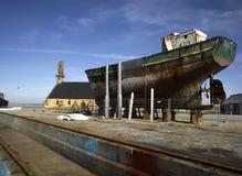 hamn för brittany camaretfinistere arkivfoton