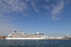 Hamn för Köpenhamn för kryssningskepp Royaltyfri Fotografi
