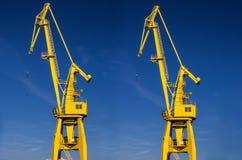 Hamn för lastbehållare i Vancouver, F Fotografering för Bildbyråer